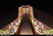 خانهتکانی به سبک برج آزادی +تصاویر