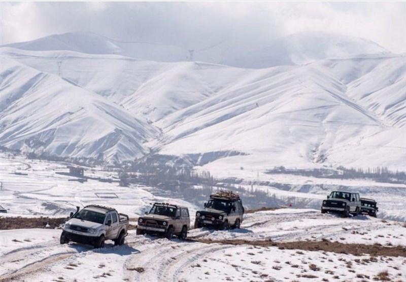 ساری|کولاک و برف جادههای مواصلاتی مازندران را در بر گرفت