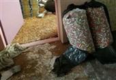 انفجار شدید منزل مسکونی انباشته از مواد محترقه در دولتآباد + تصاویر