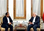 Iran's Zarif, Ansarullah Spokesman Discuss Yemeni Crisis