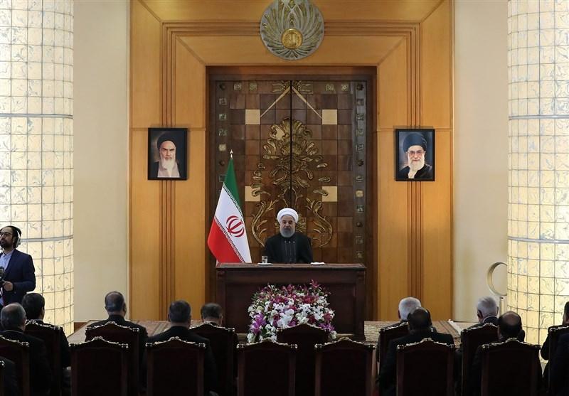 روحانی: کنار کشیدن آمریکا از برجام «خطای استراتژیک» است