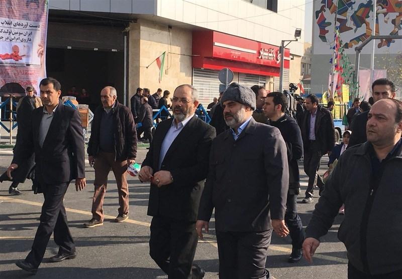 «22 بهمن 96»-9 | حضور مقامات عالی نظامی در راهپیمایی 22 بهمن