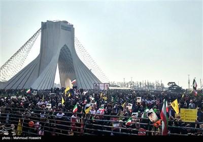 راهپیمایی 22 بهمن - میدان آزادی