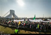 Islamic Revolution Anniversary Marked in Iran