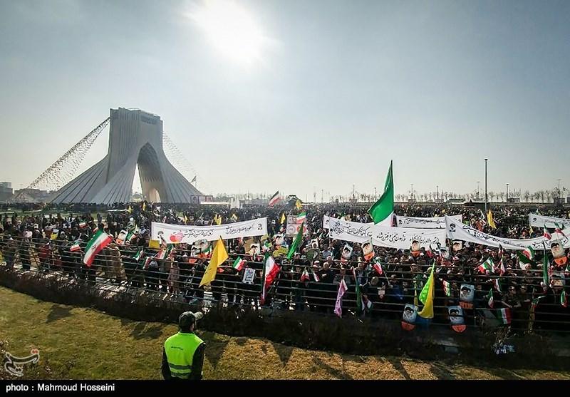 Islamic Revolution Anniversary Marked in Iran