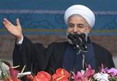 «22 بهمن 96»-20|روحانی: حضور پرشور مردم در راهپیمایی پاسخ به توطئه های آمریکاست