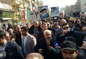 «22 بهمن 96»-12|حضور ظریف در راهپیمایی 22 بهمن