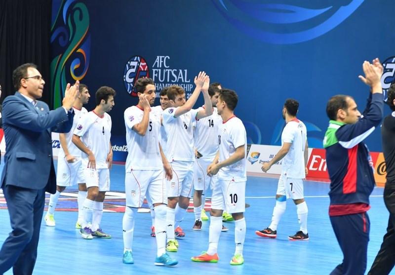 Iran Futsal Remains Third in World Ranking