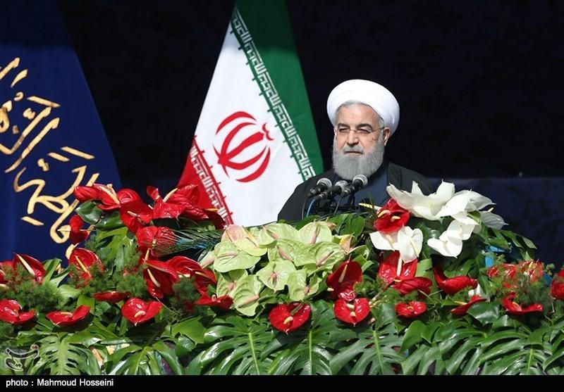 پوشش زنده «۲۲ بهمن ۹۶»|روحانی: کمک ایران به عراق و سوریه به ثمر نشست/ ما بر تروریسم پیروز شدیم