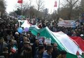 راهپیمایی باشکوه قزوینیها در حمایت از اقتدار و امنیت+تصاویر