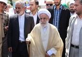 «22 بهمن 96»-26|آیات جنتی، شاهرودی و آملی لاریجانی به راهپیمایان تهرانی پیوستند