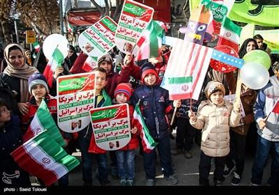 راهپیمایی 22 بهمن در بجنورد