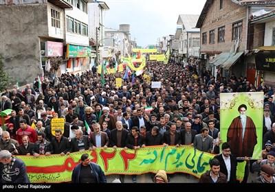 راهپیمایی 22 بهمن در گیلان
