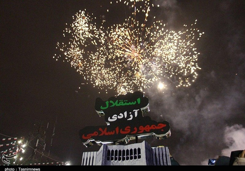 جشن پیروزی انقلاب در رشت