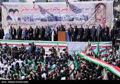 راهپیمایی ۲۲ بهمن در مازندران