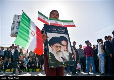 راهپیمایی ۲۲ بهمن درلامرد - فارس