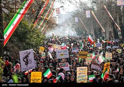 راهپیمایی ۲۲ بهمن در گرگان