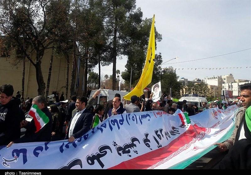 راهپیمایی شیراز