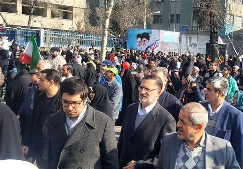 حضور مردم در راهپیمایی 22 بهمن و انعکاس پیام استقلال، امنیت و اقتدار ایران اسلامی