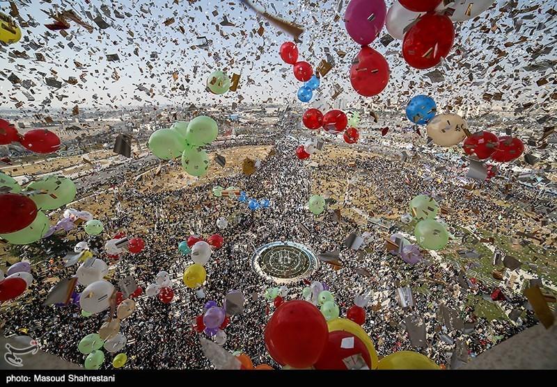 راهپیمایی 22 بهمن - برج آزادی