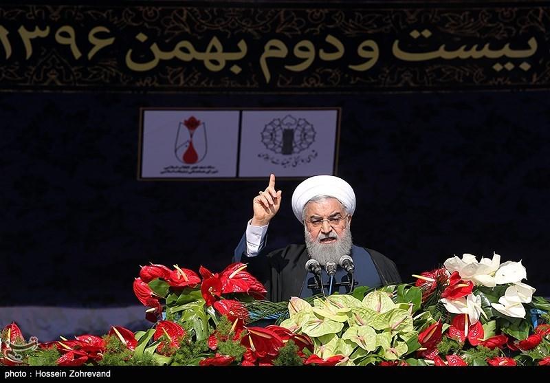 «22 بهمن 96»-25 روحانی: کمک ایران به عراق و سوریه به ثمر نشست/ ما بر تروریسم پیروز شدیم
