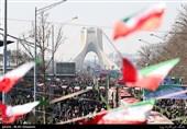 مردم باشکوهترین راهپیمایی 22 بهمن را رقم زدند