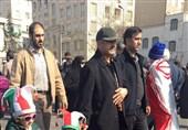 «22 بهمن 96»-24|حضور سرلشکر جعفری در راهپیمایی 22 بهمن + عکس
