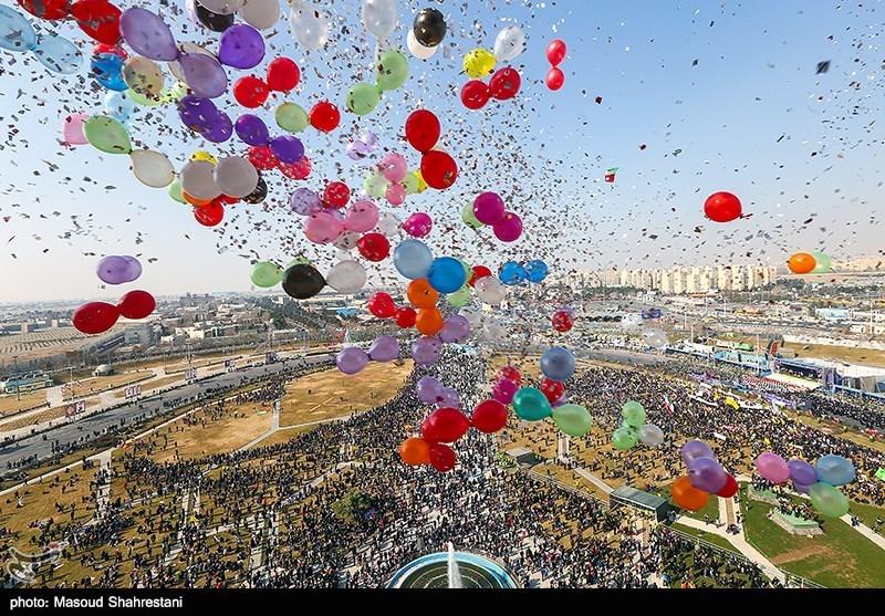 استقبال از جشن چهل سالگی انقلاب اسلامی با #میآیم_چون + عکس