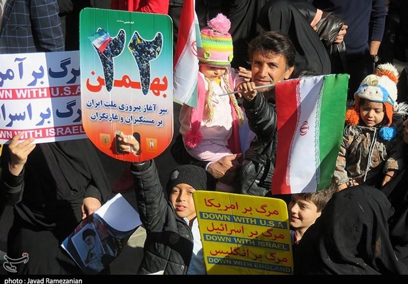 مسیرهای راهپیمایی 22 بهمن در استان کرمانشاه اعلام شد