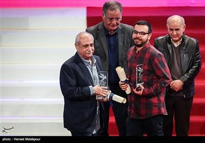 اهداء سیمرغ بلورین بهترین تدوین به بهرام دهقانی و محمد نجاریان برای فیلم عرق سرد