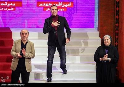 فرشته طائرپور، محمدرضا فروتن و کمال تبریزی اعضای هیئت داوران سیوششمین جشنواره فیلم فجر