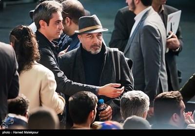 رضا عطاران در مراسم اختتامیه سیوششمین جشنواره فیلم فجر