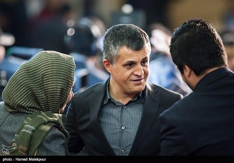 یاسر هاشمی در مراسم اختتامیه سیوششمین جشنواره فیلم فجر