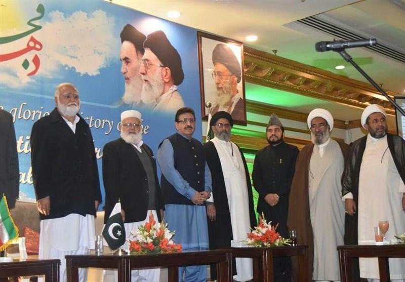 تصاویر | انقلاب اسلامی کی 39ویں سالگرہ پر میریٹ ہوٹل اسلام آباد میں تقریب کا انعقاد