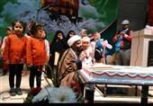 جشن تولد فرزندان بهمن ماهی شهدای فاطمیون+عکس