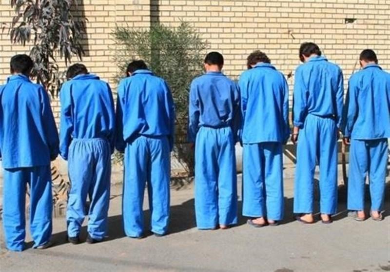 دستگیری 6 سارق در آستانه سرقت از صرافیهای تهران