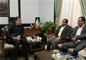 سخنگوی انصارالله با دستیار ظریف دیدار کرد