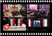 دمشق تحتفل فی الذکرى التاسعة والثلاثین لانتصار الثورة الإسلامیة +صور وفیدیو