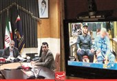 """اراک  زندانی زندان اراک بهصورت """"ویدئو کنفرانس"""" در دادگاه یزد شرکت کرد"""