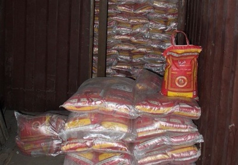 41 تن برنج قاچاق در مازندران کشف شد