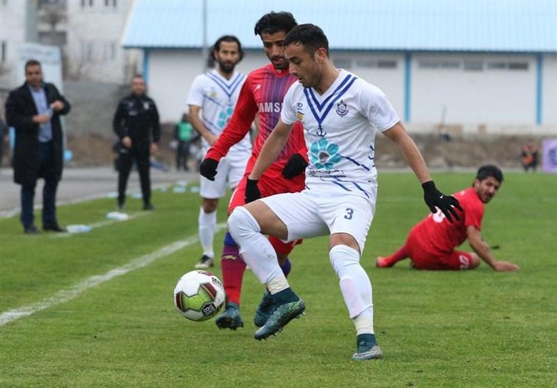 لیگ دسته اول فوتبال  توقف صدرنشین در انزلی و پیروزی ارزشمند خونهبهخونه/ راهآهن سرانجام برد