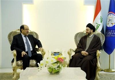 رایزنی نوری مالکی با عمار حکیم بر سر انتخابات پارلمانی عراق