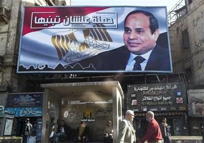 نهادهای حقوقی: انتخابات ریاست جمهوری مصر شفاف و آزاد نیست