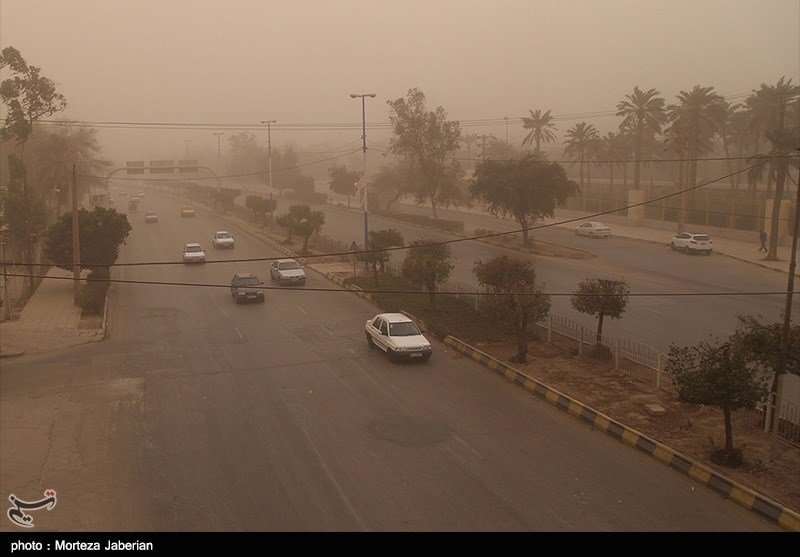 آلودگی هوای اهواز ۶۰ برابر حد مجاز