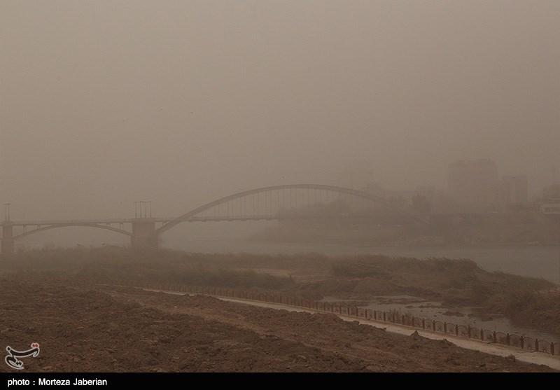 کیفیت هوای 5 مرکز استان کشور ناسالم شد