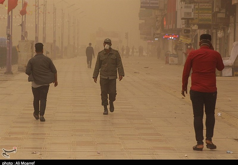 Air Pollution in Iran's Southwestern City 60 Times Higher than Safe Levels