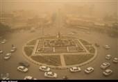اهواز| هوای خاکی اهواز در واپسین روزهای بهمن + تصاویر