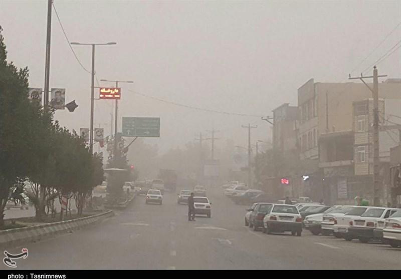 لرستان  نفس پلدختر گرفت؛ آلودگی هوا 131 برابر حد مجاز + تصاویر