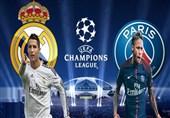 لیگ قهرمانان اروپا| ترکیب اصلی تیمهای رئال مادرید و پاریسنژرمن مشخص شد