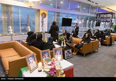 مراسم استقبال از 3 شهید سانحه سانچی به میهن